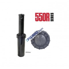 Pop Up Irrigatore Irritrol Hunter 550 r sc turbina 15 metri raggio