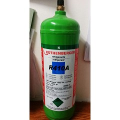 ESAURITO Bombola gas refrigerante R410A kg 2 ROTHENBERGER FREON